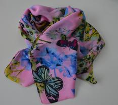 Scarves / Fjärilar Rosa..
